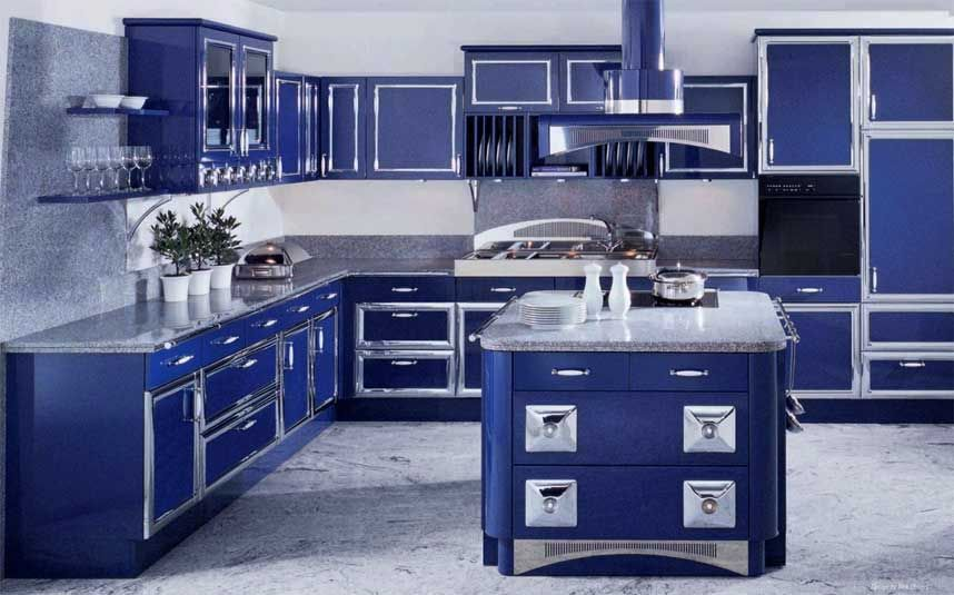 Cobalt Blue Kitchen  Ideas For Our Next House  Pinterest Impressive Kitchen Design By Ken Kelly Design Ideas