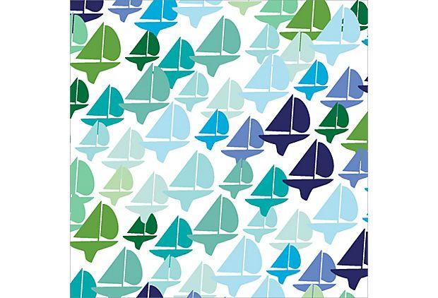 Cool Sailboat Pattern on OneKingsLane.com