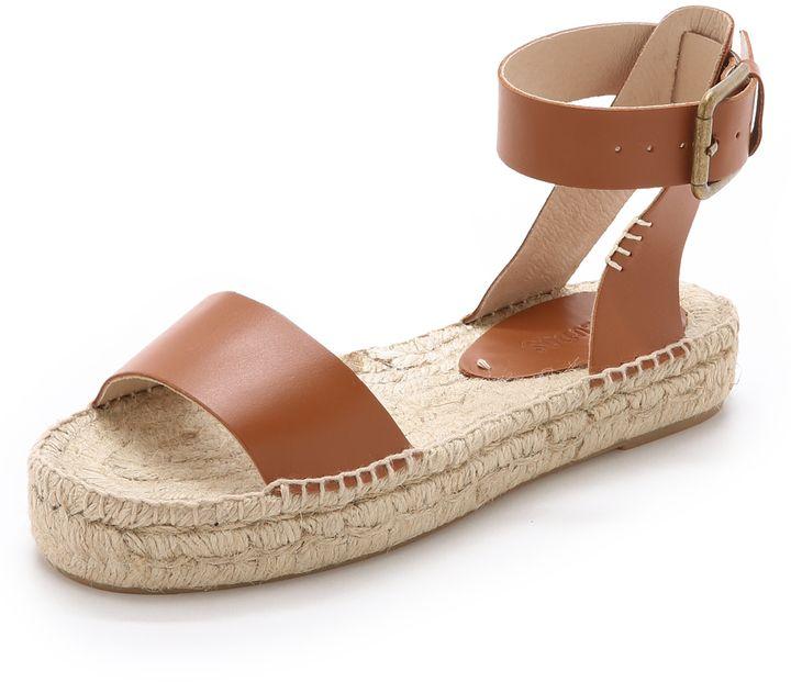 80f1e88fdb5 Soludos Platform Open Toe Sandals - ShopStyle