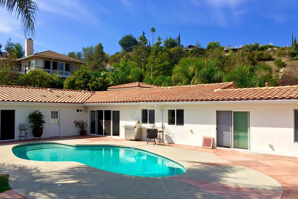 Foto: casa/residencia de Brandi Glanville en Encino, California