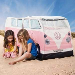 Enter to win a VW Tent in the Fun in the Sun Giveaway Hop!  sc 1 st  Pinterest & A little van for little girls! #circu #magicalfurniture #bunvan ...