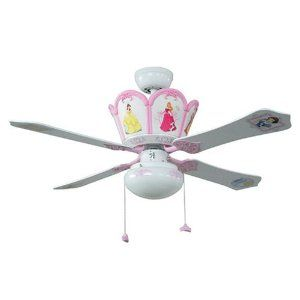 Princess Ceiling Fan For That Extra