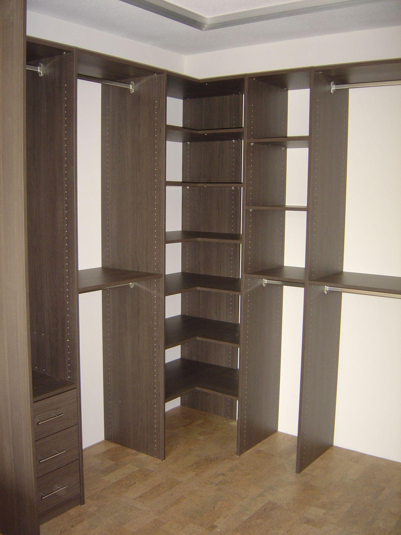 free kleine inloopkast hoek small walkinn corner with. Black Bedroom Furniture Sets. Home Design Ideas