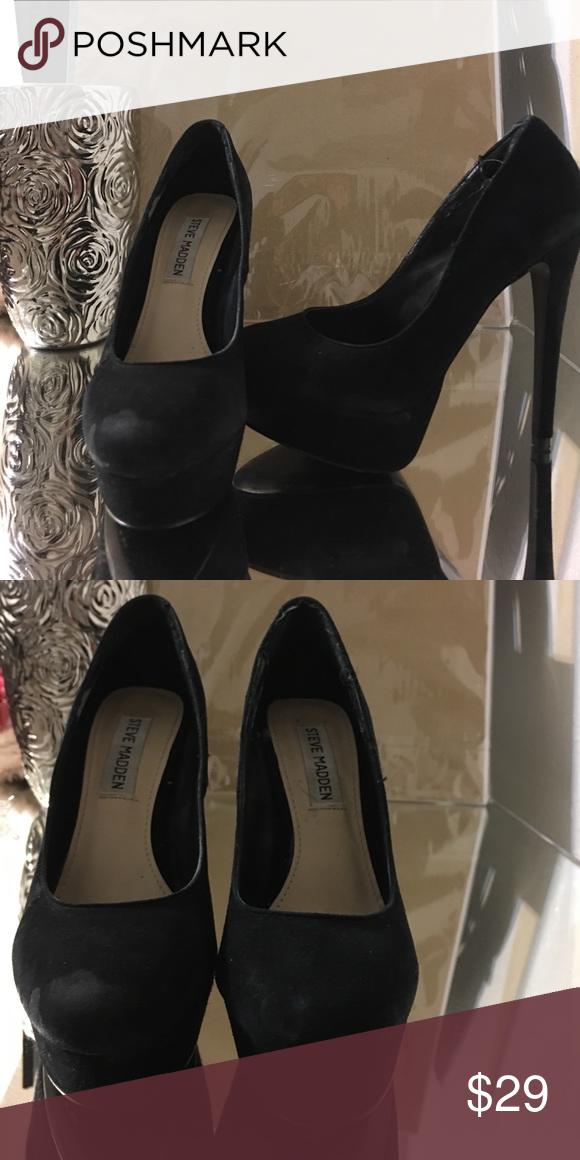 New Suede Demandd STEVE MADDEN pumps heels 6 inch Very comfy for six inch  heels (