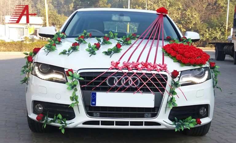 Click Here To Get Luxury Bridal Car Rental Services In Chennai Agarwal Travel Links Is One Of The Premium Weddi Wedding Car Decorations Wedding Car Car Decor