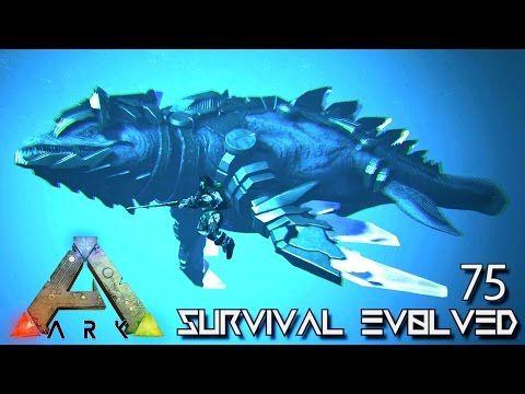 cool ARK: SURVIVAL EVOLVED - ALPHA TEK MOSASAUR SADDLE