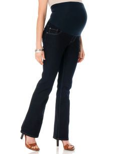 Motherhood Maternity Indigo Blue Secret Fit Belly(r) Super Stretch Boot Cut Maternity Jeans