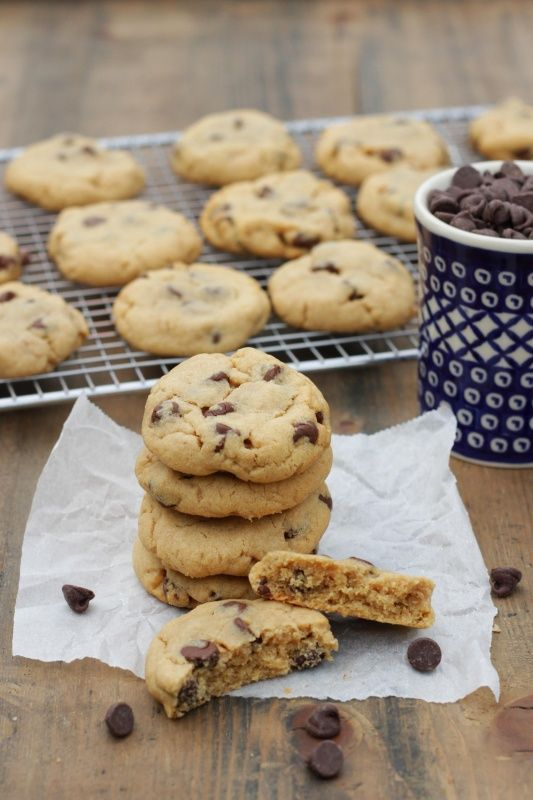 Peanut Butter Chocolate Chip Cookies - Living on Cookies