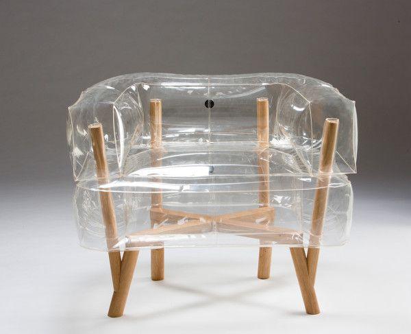 Anda: An Inflatable Chair by Tehila Guy