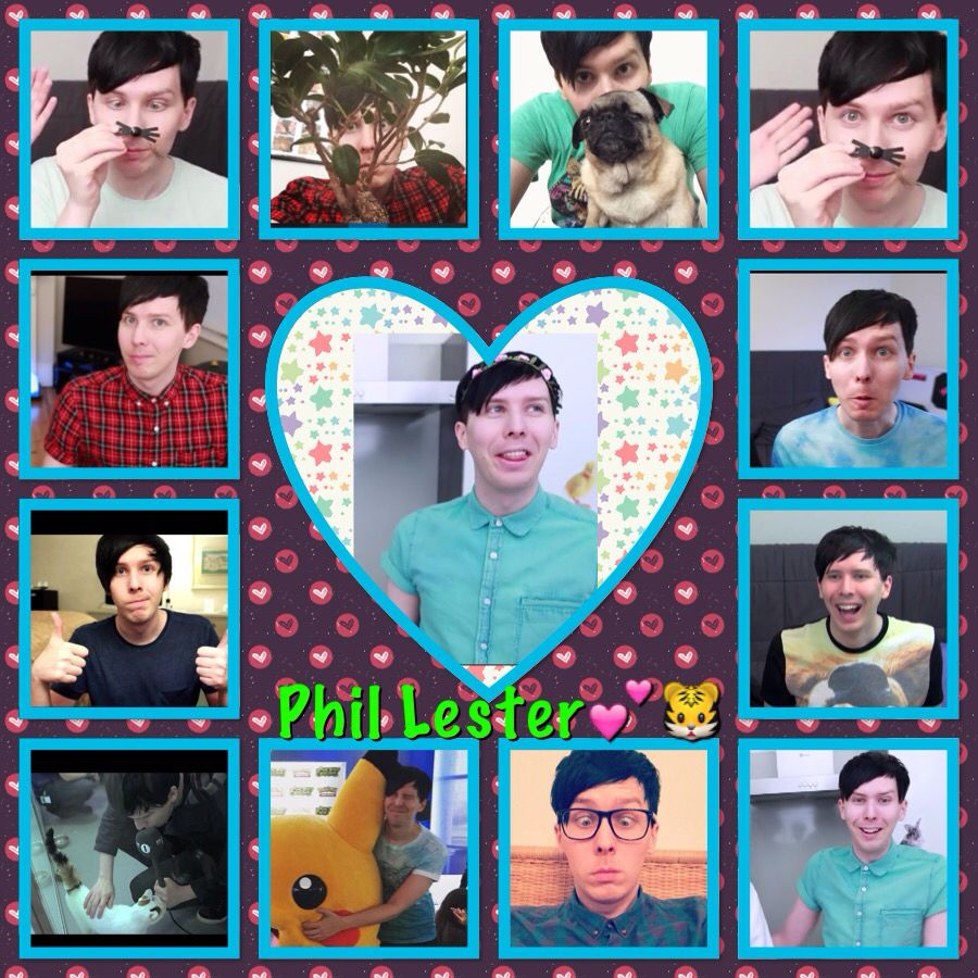 Youtuber Collage