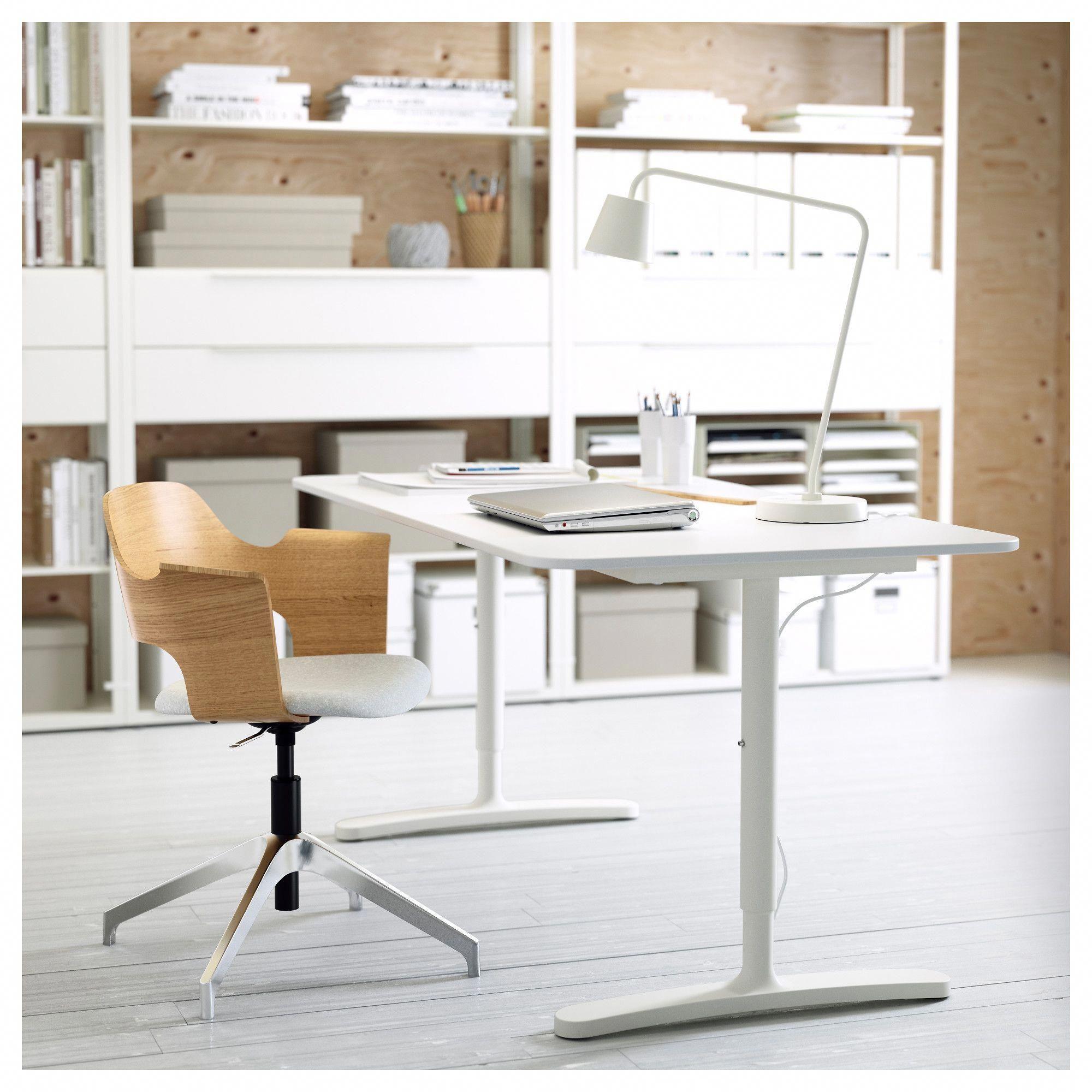 Bekant Desk White Ikea Home Office White Desk Home Office Furniture Office Furniture Design