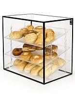 Clear Countertop Bins Display Cases Retail Merchandising
