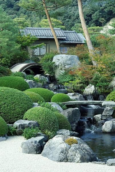 Japanu0027s gardenadachi museum of art(yasugi,shimane) Japanese style - jardines zen