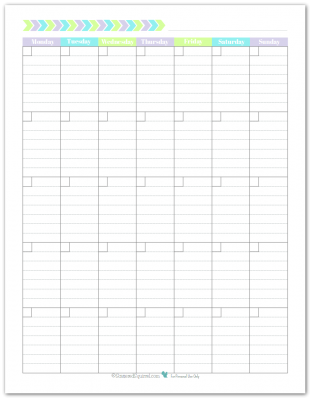 new planner printables reader request pinterest blank monthly