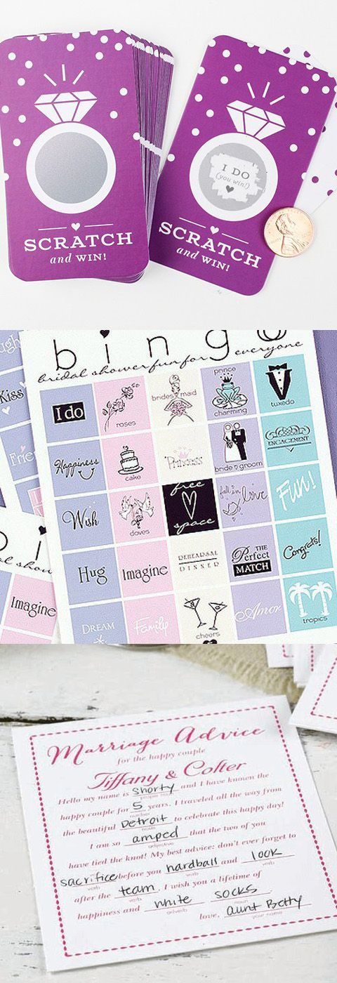 20 bridal shower games ideas