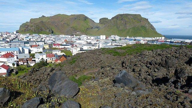 Die Auswirkungen des Vulkanausbruchs auf den Westmännerinseln sind noch immer zu sehen.