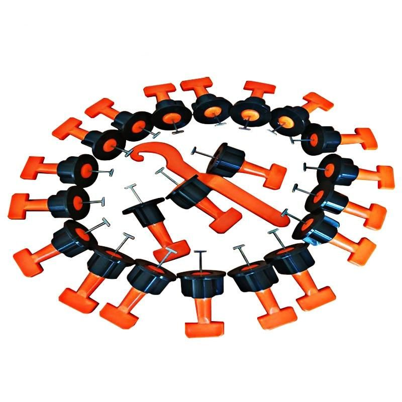 Reusable Anti Lippage Tile Leveling System 50 Pcs Per Pack Tile Leveling System Construction Tools Tiles