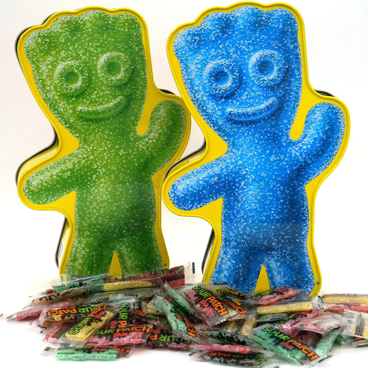 sour patch kids limited edition character tin candy