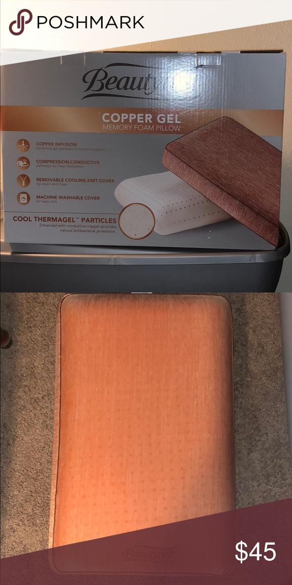 beauty rest copper gel memory foam
