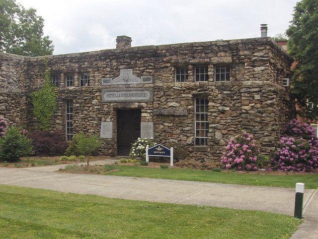 Montague Hall at North Carolina's Mars Hill College