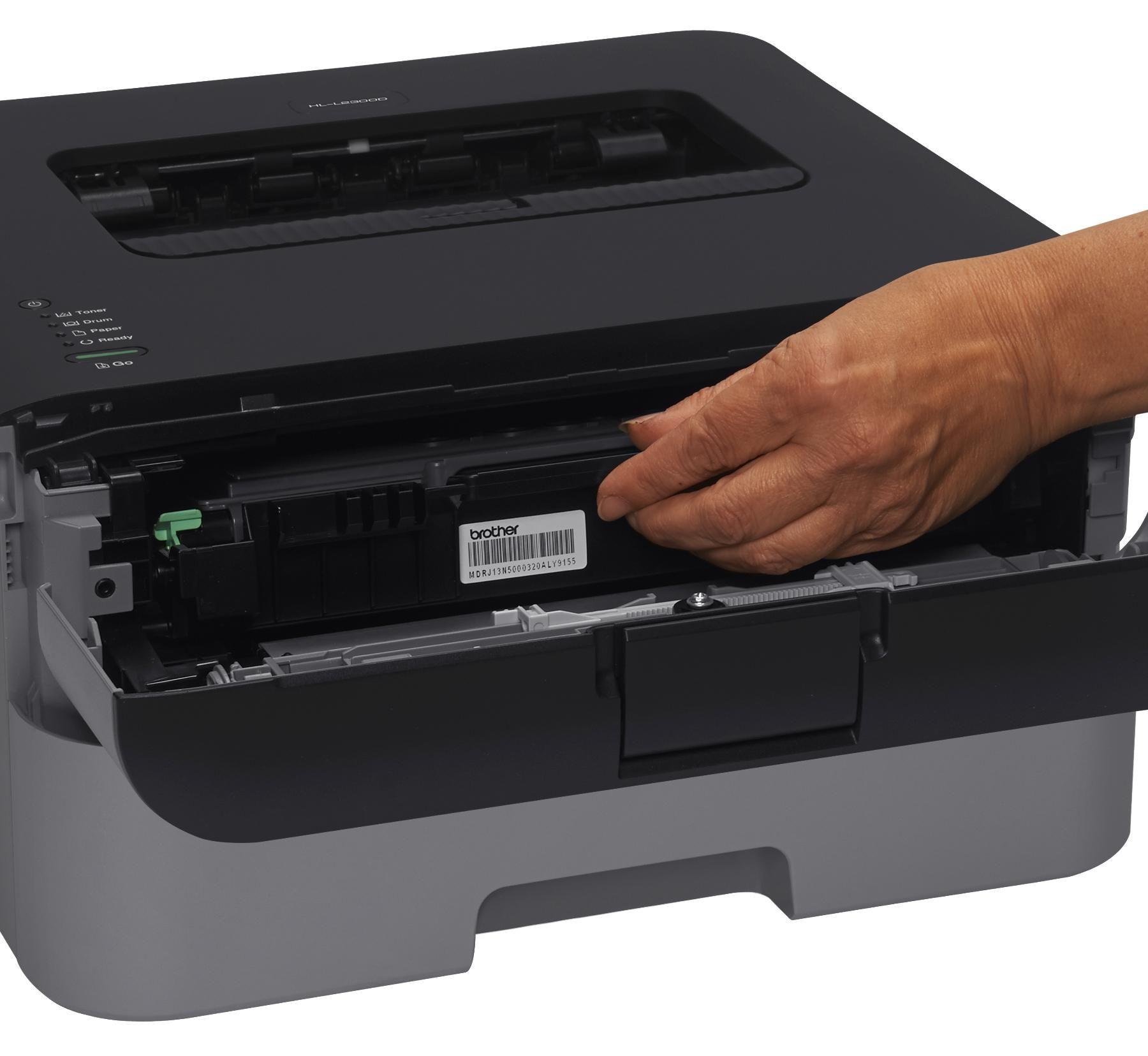 Amazon Com Brother Hl L2300d Monochrome Laser Printer With Duplex Printing Electronics Laser Printer Printer Monochrome