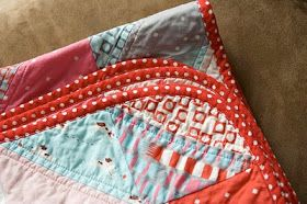 a quilt is nice: rounded quilt corners tutorial