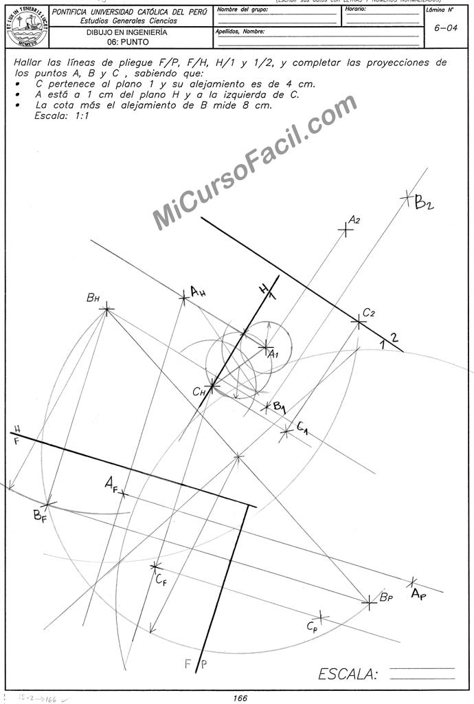 Dibpunto89 Si1 Png Geometria Descriptiva Geometria Planos