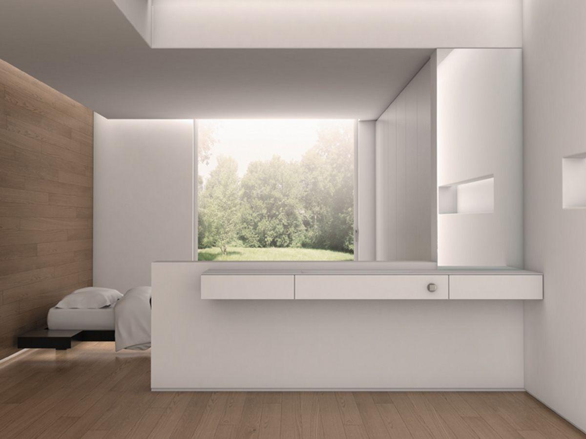 Plan de toilette en Corian® LINEA by Moab 80 | design SALVAGNI ...