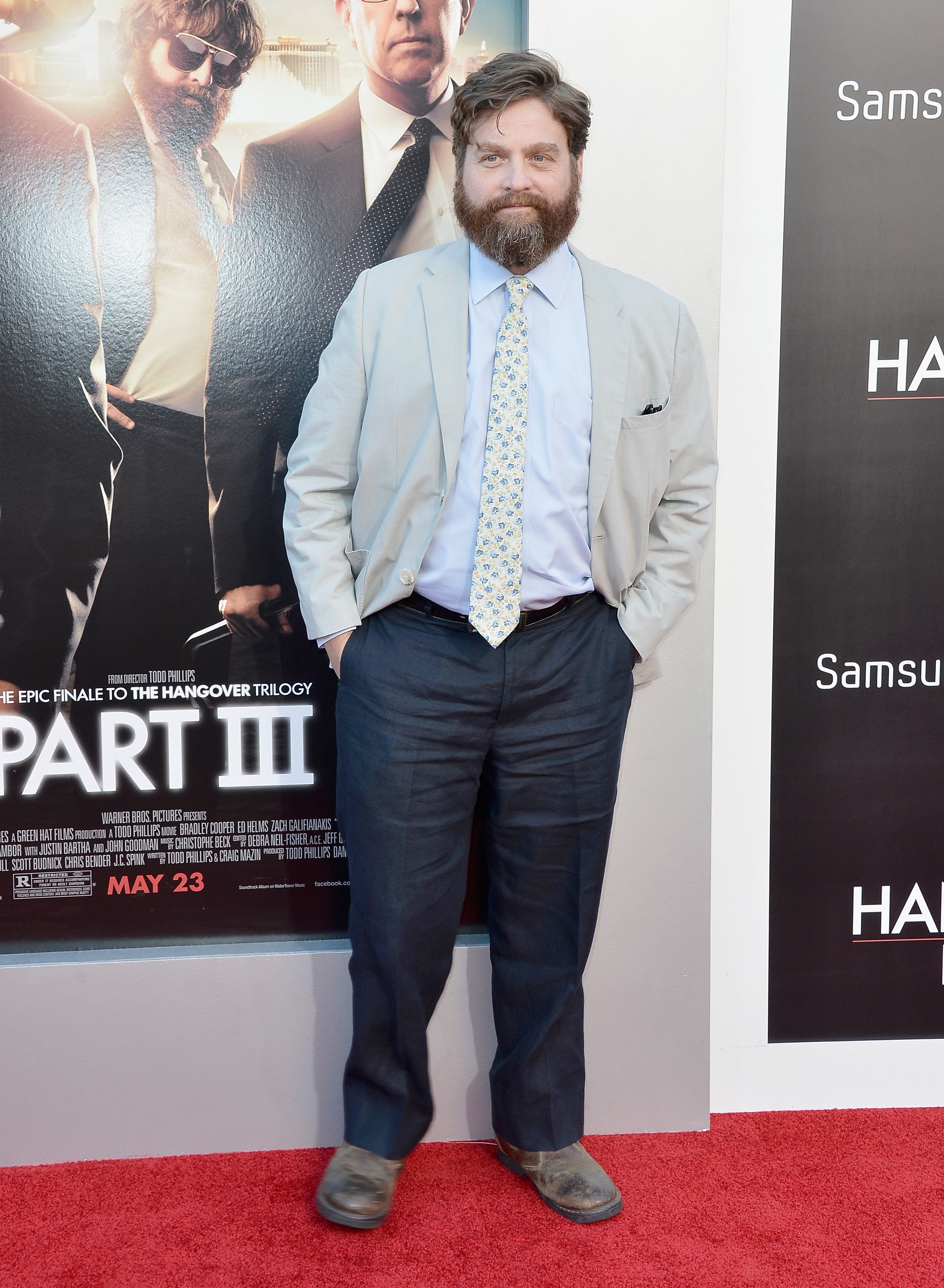 Zach Galifianakis Played The Pudgy Brother In Law Hangover Series But Now Comedian Shed A Ton Of Weight