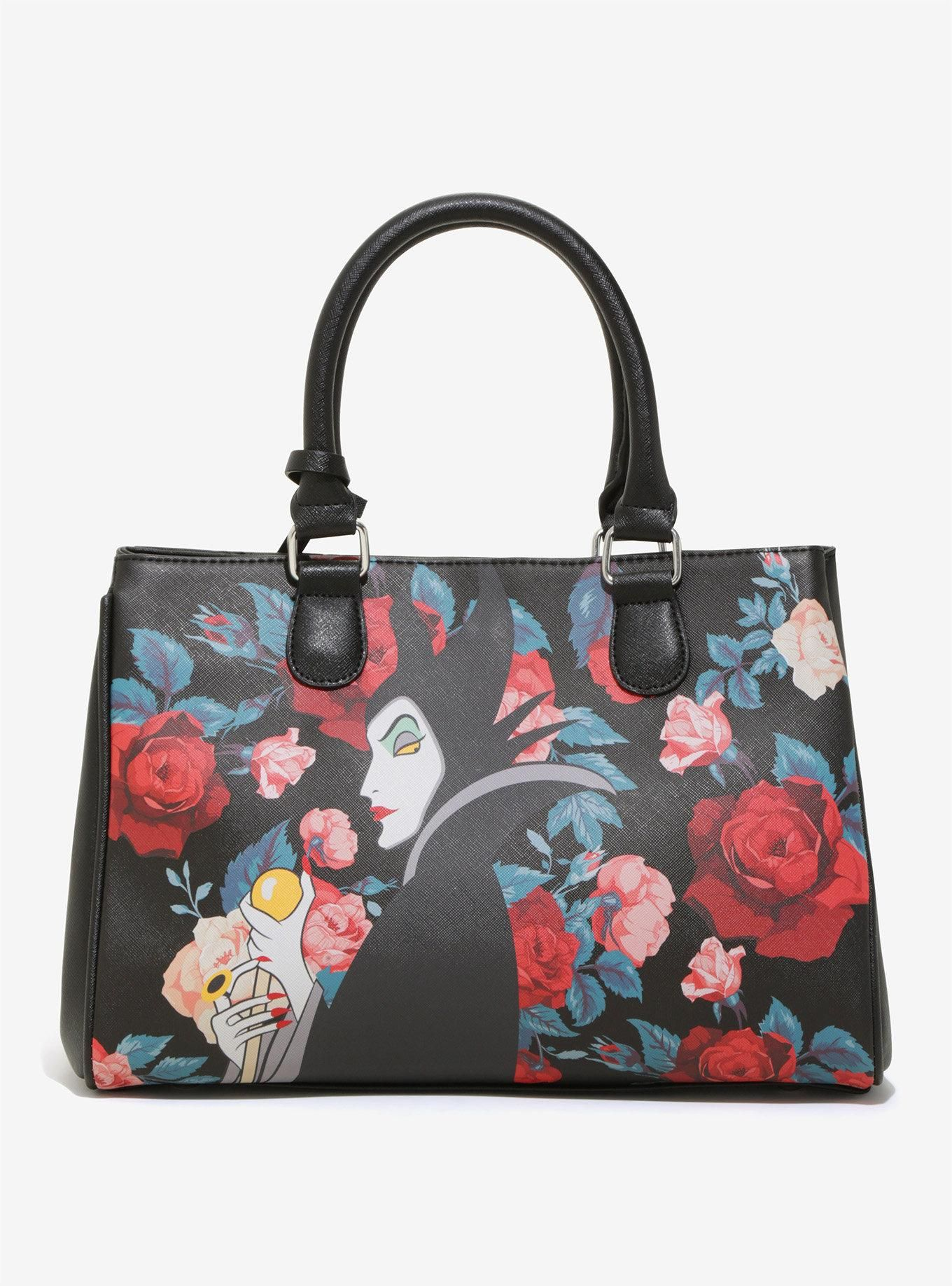 31b5614f59c Loungefly Disney Maleficent Roses Tote - BoxLunch Exclusive