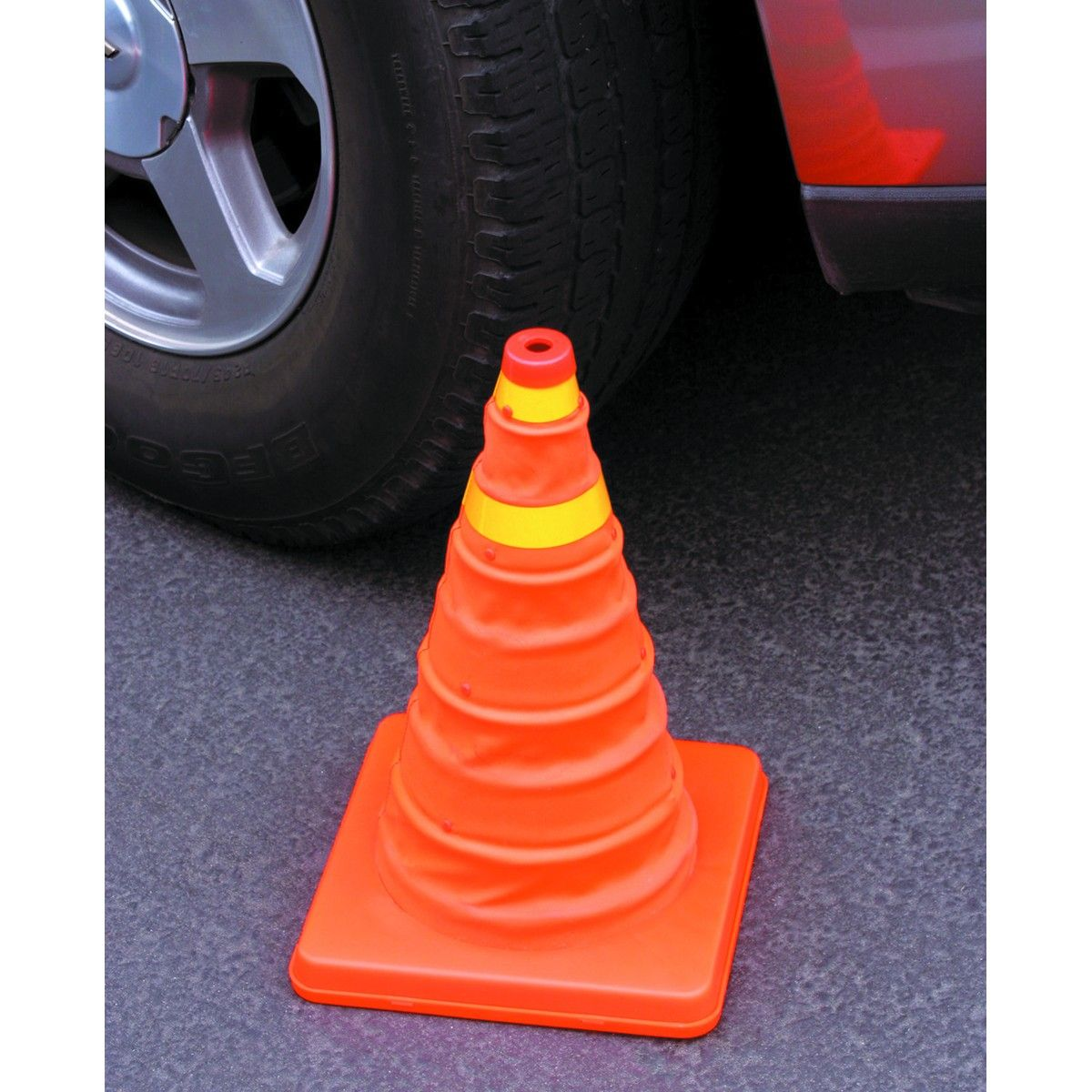 Collapsible Reflective Emergency Cone Automotive shops
