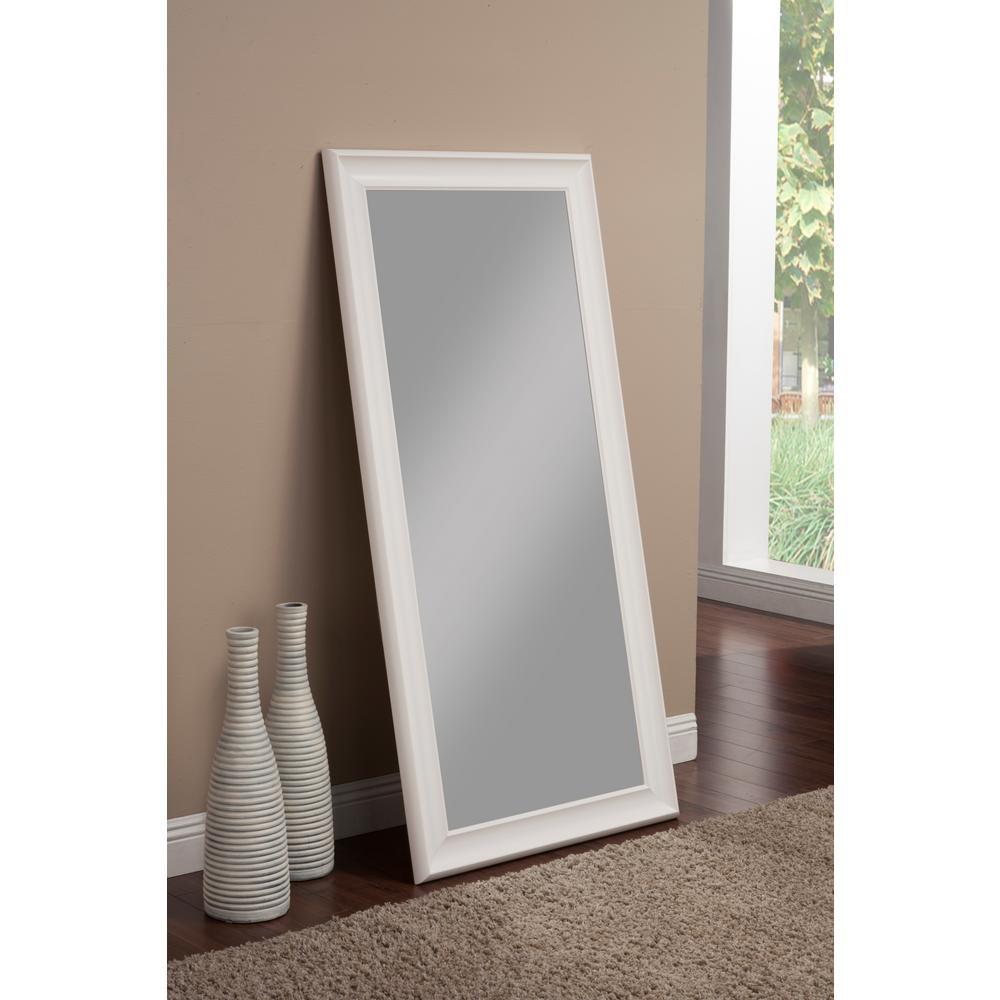 Martin Svensson Home Frost White Full Length Leaner Floor Mirror
