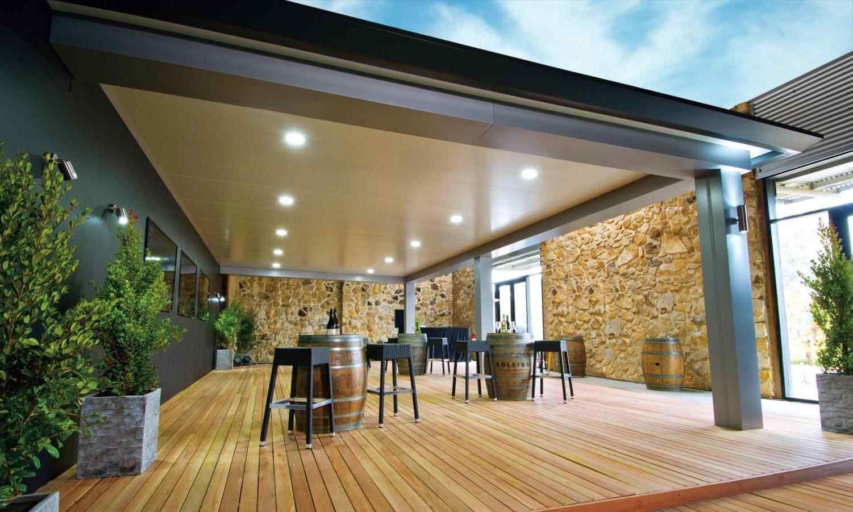 Alfresco Roof Ideas Outdoor living patio, Outdoor living