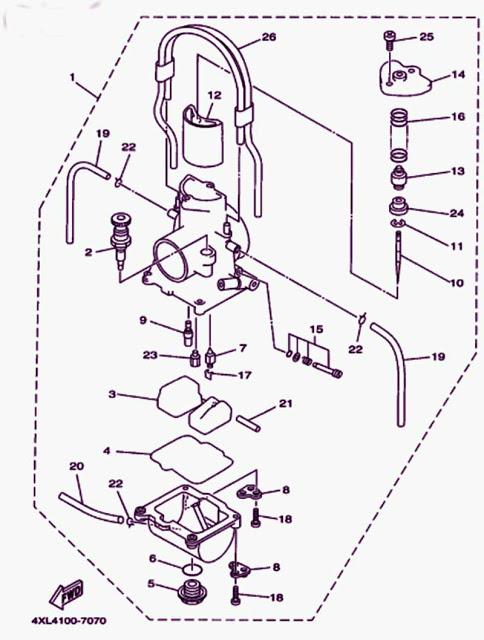 1998 200 Yamaha Blaster Wiring Diagram