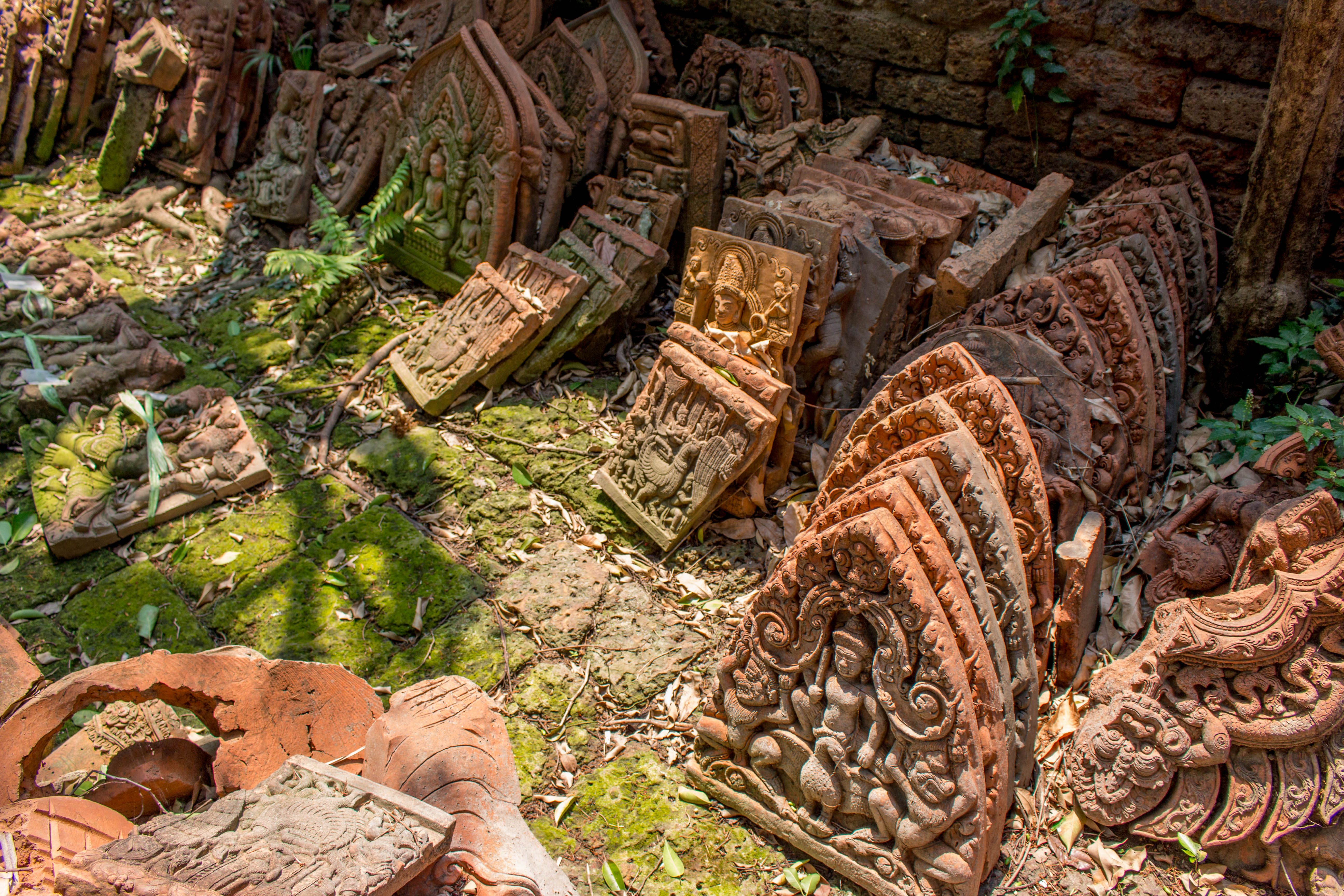 The Secret Terra Cotta Garden of Chiang Mai, Thailand