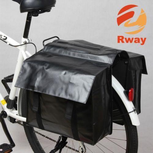 Doppel Gepaecktraeger Fahrrad Tasche Fahrradtasche Gepaecktasche