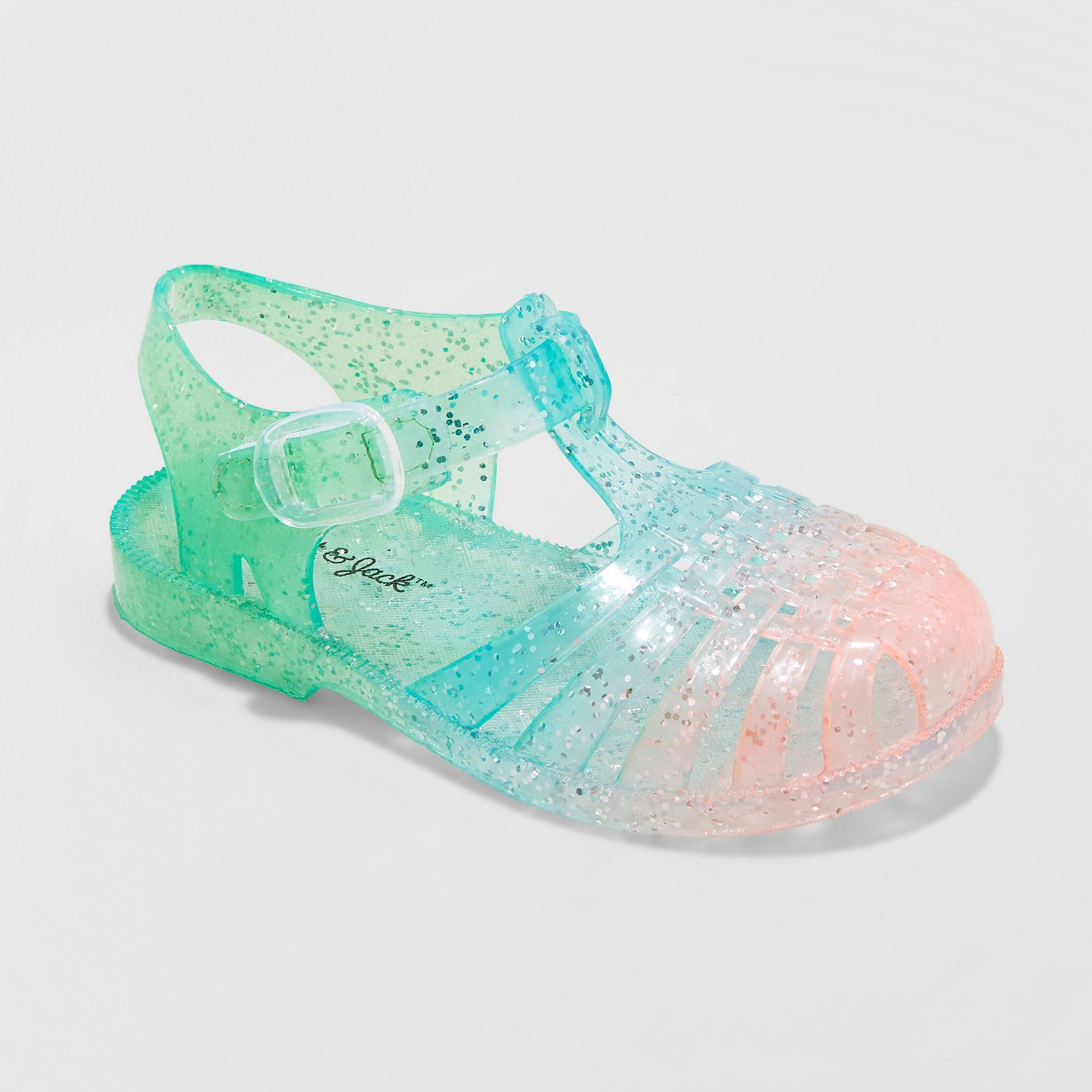 1431fb890f8e Toddler Girls  Fleur Jelly Fisherman Sandals - Cat   Jack Green 11 ...