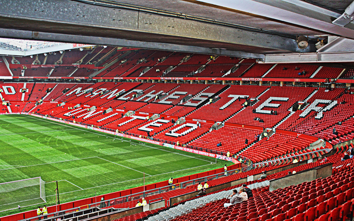 Download wallpapers Old Trafford, Theatre of Dreams, English Football  Stadium, Manchester United Stadium, Modern Sports Arena, Mansechter,  England, UK, Stadiums… | Manchester united stadium, English football  stadiums, Manchester stadium