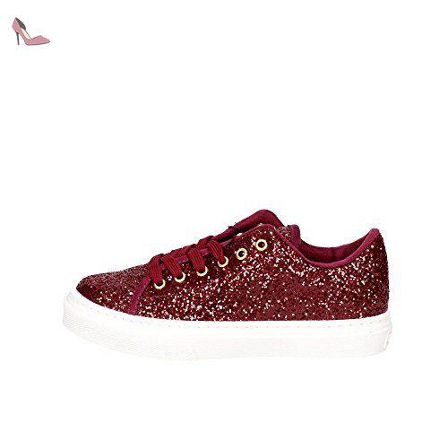 701be2bc18 Guess FL3 GEN FAM12 Sneakers Femme Glitter Bordeaux Bordeaux 36 - Chaussures  guess (*Partner-Link)