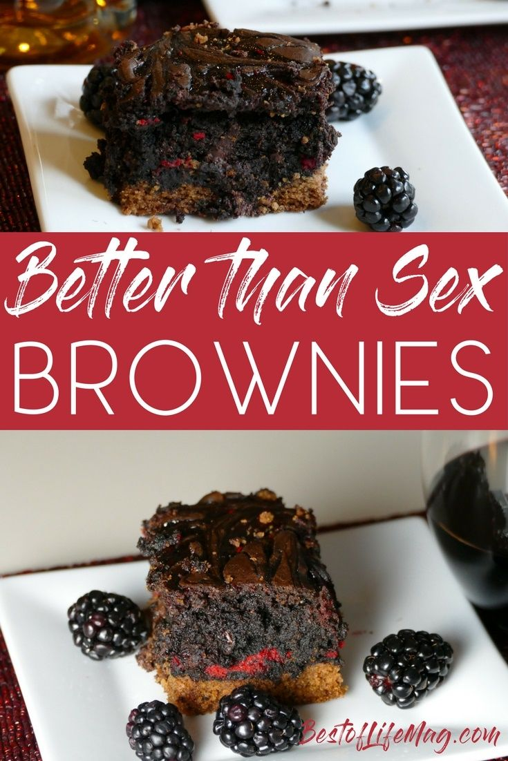 Better than sex brownies recipe