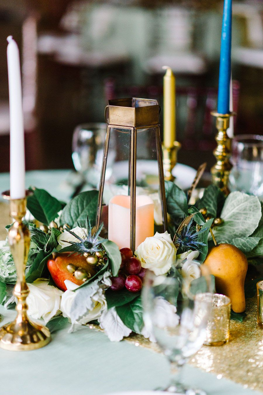 22 Wedding Centerpieces Bursting with Fruits and