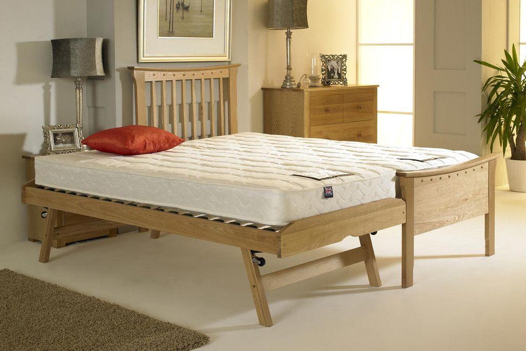 Portman Solid Oak Guest Bed 3ft Single Bedroom Design Guest