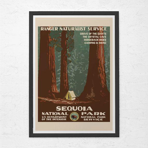 Art Deco National Park Posters