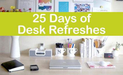Great Ideas To Organize One S Workspace Work Cubicle Desk