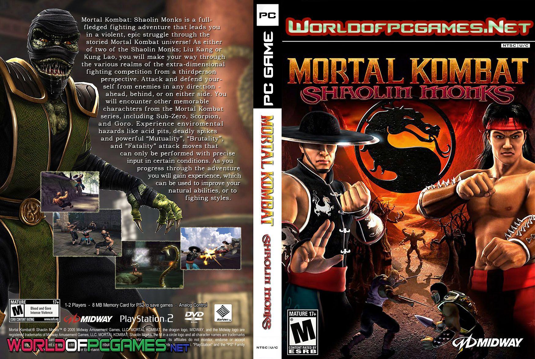 Pin By Muu Hamed On Free Download Full Version Pc Games Mortal Kombat Shaolin Monks Mortal Kombat Shaolin Monks