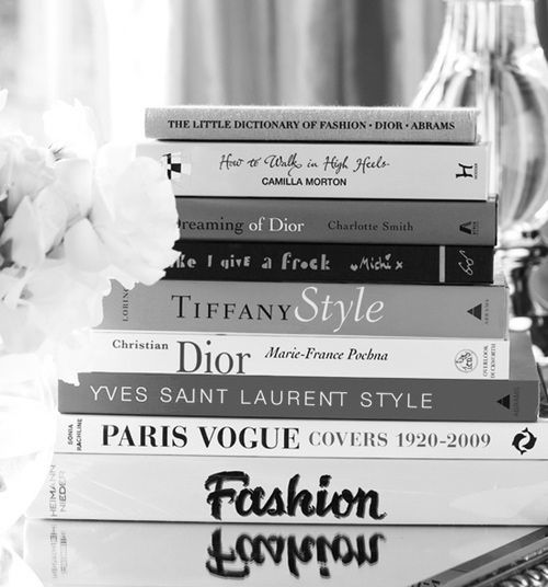 Fashion books may be the best of interior details