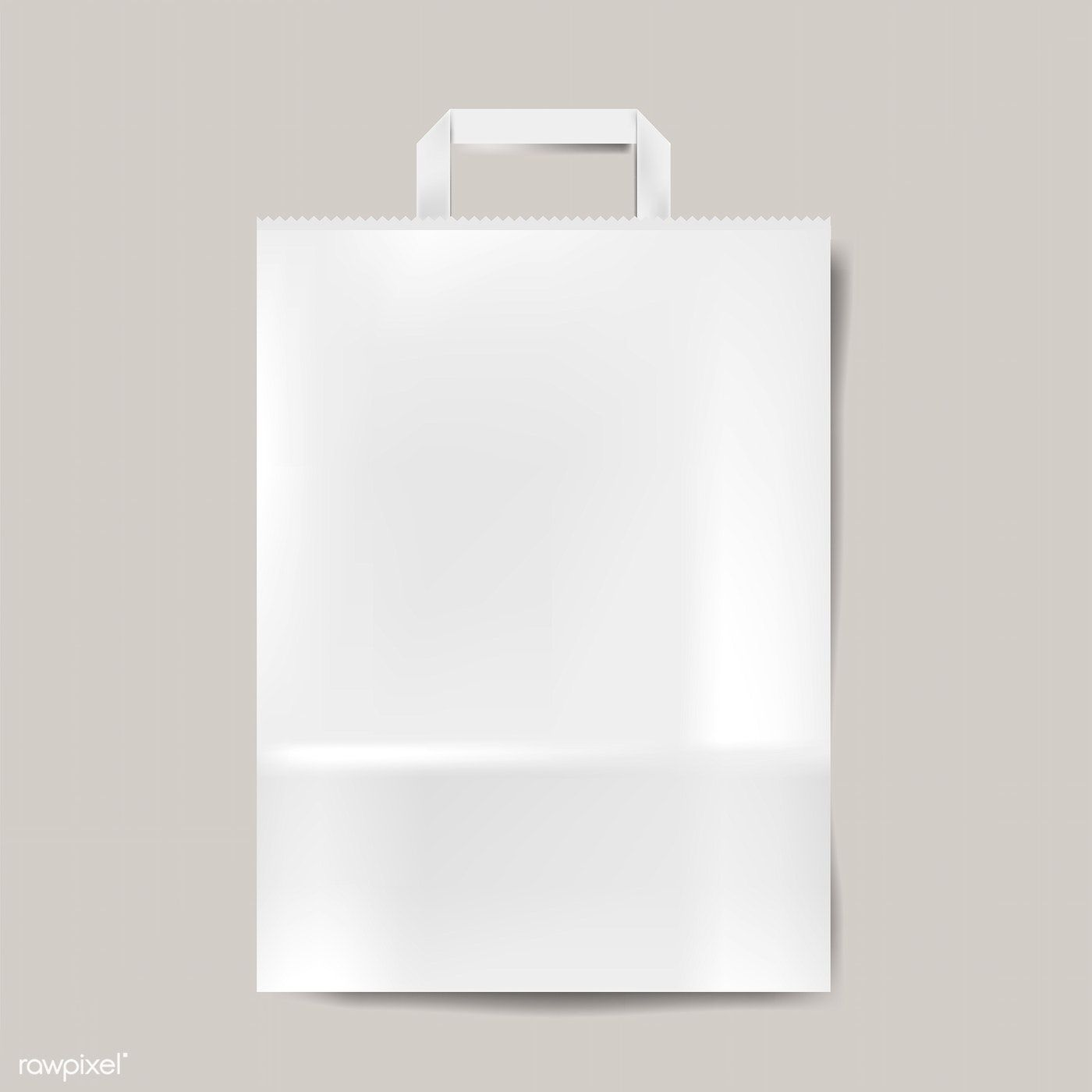 Download Paper Bag Mockup Isolated Vector Free Image By Rawpixel Com Bag Mockup Graphic Design Mockup Paper Bag
