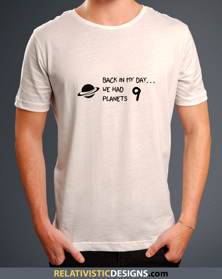 Back In My Day We Had 9 Planets Nerd T-Shirt