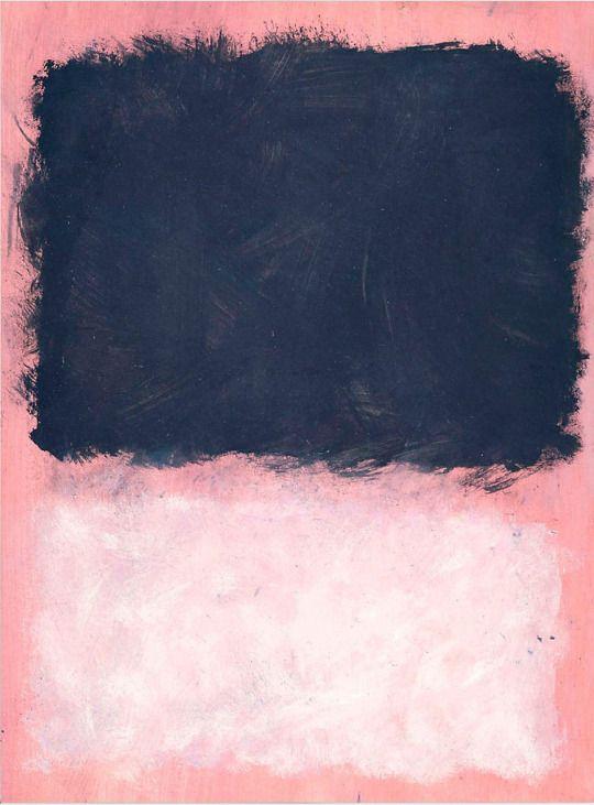 Mark Rothko, Untitled (Grey and White on Purple), 1967.