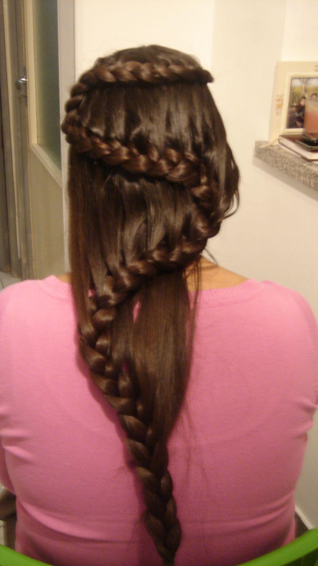 Snake mermaid braid! Cute girls hairstyles! | TutorialeCrix ...